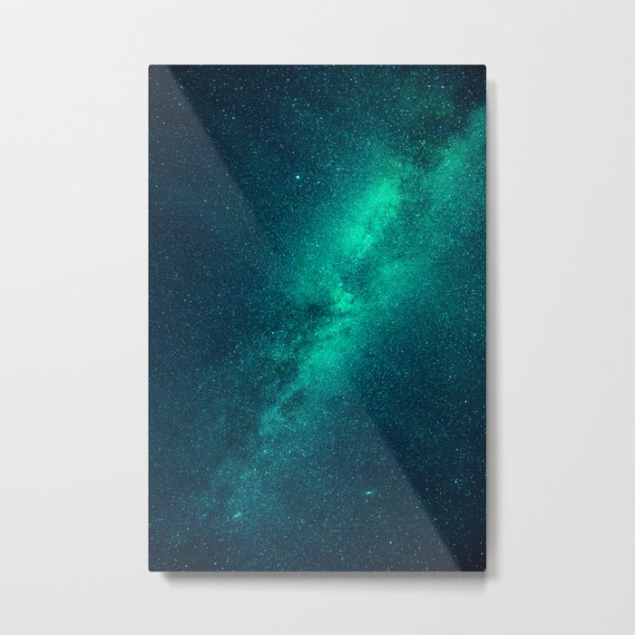 Galaxy Lights Metal Print