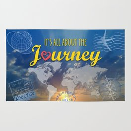 It's All About the Journey Rug