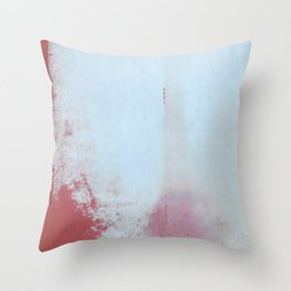 Red Regret Throw Pillow
