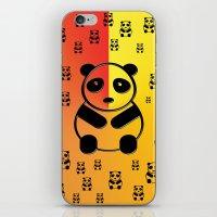pandas iPhone & iPod Skins featuring Pandas by Gaspar Avila