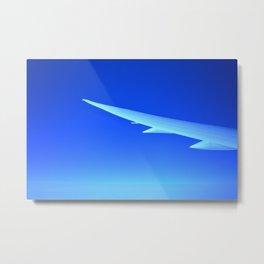 Blue Wing Metal Print