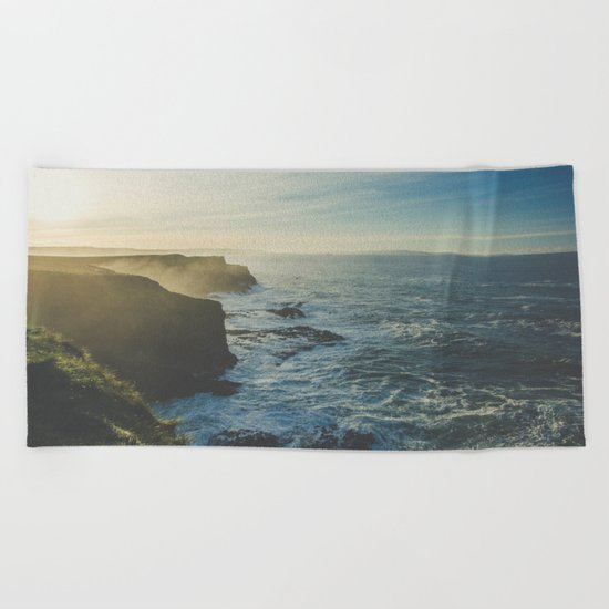 I Will Come Back But First... // Landscape // Edge of Cliff Photography #society6 #art #prints Beach Towel