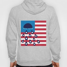 Red White and Blues Hoody