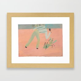 Bug Problems Framed Art Print