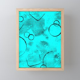 Texture #26 in Topaz Framed Mini Art Print