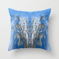 tree of life Throw Pillows featuring Life Tree by Robert Gipson