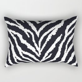 Zebra fur texture Rectangular Pillow