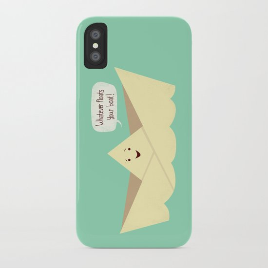 Happy boat iPhone Case