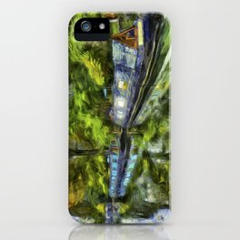 Little Venice London Art iPhone Case