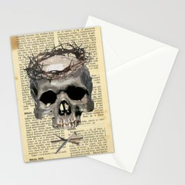 Thorny Crown Stationery Cards
