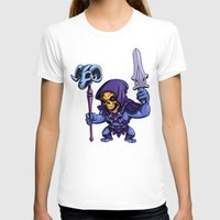 skeletor T-shirts featuring Little Skeletor by Rico Marcano