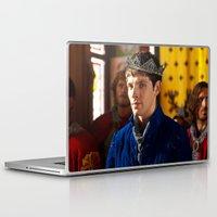 merlin Laptop & iPad Skins featuring Prince Merlin by JadedGinger
