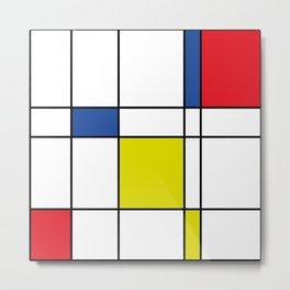 Mondrian 1 Metal Print