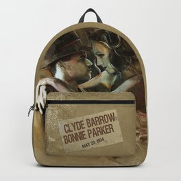 Bonnie and Clyde Backpack