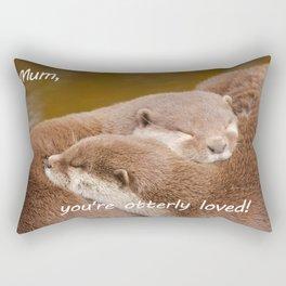 Mum You're Otterley Loved Rectangular Pillow