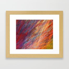 Needle In The Haystack Framed Art Print
