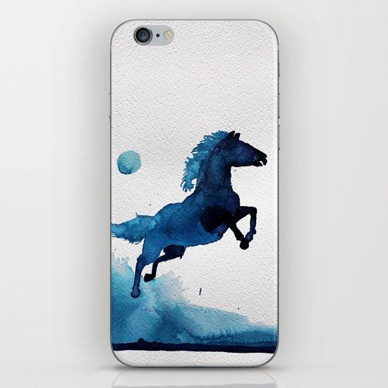 Equus ferus caballus iPhone & iPod Skin