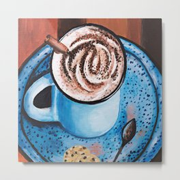Cappucino Time Metal Print