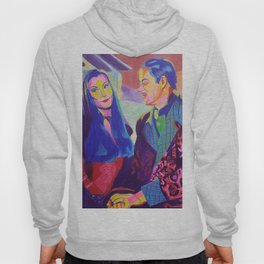 Morticia and Gomez Hoody