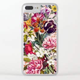 Exotic Garden - Summer Clear iPhone Case