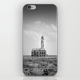 Klein Curaçao (Little Curacao) Lighthouse iPhone Skin