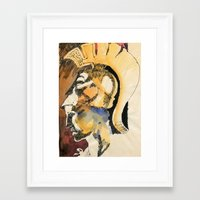 roman Framed Art Prints featuring Roman by Ecsentrik