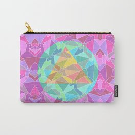 Psychedelic Unicorn Carry-All Pouch