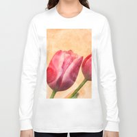 romance Long Sleeve T-shirts featuring Romance by Elizabeth Wilson Photography