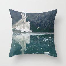 alaskan ice. Throw Pillow