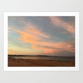 Collaroy Beach, NSW, Australia Art Print