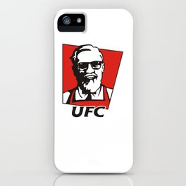 The Notorious Conor Mcgregor T-shirt Funny UFC KFC iPhone Case