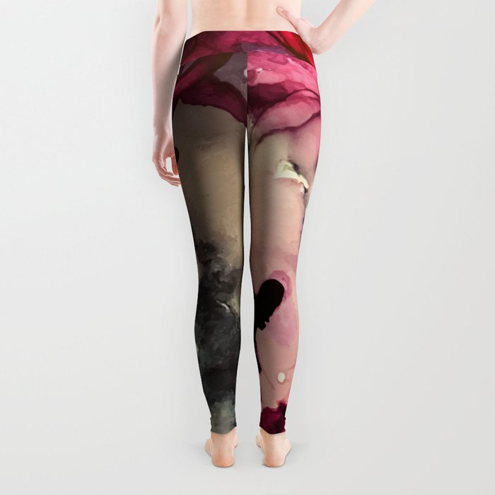 Dark Inks - Alcohol Ink Painting Leggings
