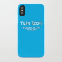 Team Keefe iPhone Case