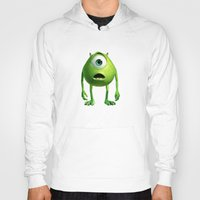 monster inc Hoodies featuring Monster Inc Mike by Veylow