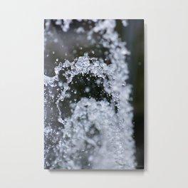 Water9 Metal Print