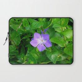 Violet Herbaceous Periwinkle Laptop Sleeve