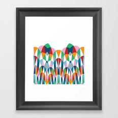 Modern Day Arches Framed Art Print