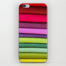 FABRIC FROLIC iPhone Skin