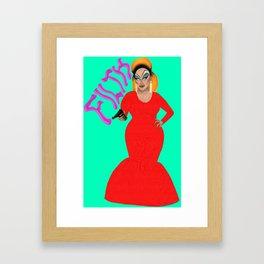 Divine Filth Framed Art Print