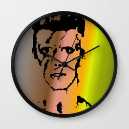 Bowie Ash Man Wall Clock