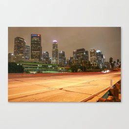 LA Freeway  Canvas Print