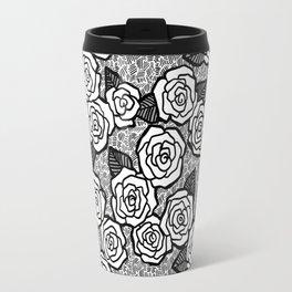 Ink Roses Travel Mug