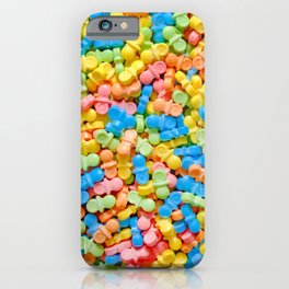 Mini Baby Pacifier Pastel Candy Pattern iPhone Case