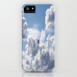 Free as a bird iPhone Case