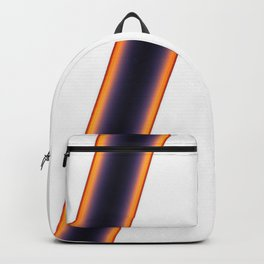 White Stripes Backpack