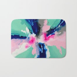 The Josie Abstract Painting Bath Mat