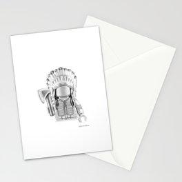Cheyenne Warrior Stationery Cards