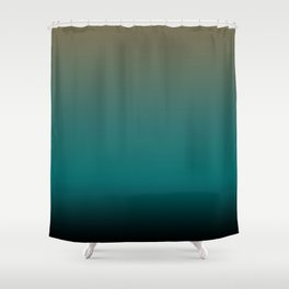 Jaded Shower Curtain
