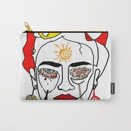 Move like Frida Kahlo Carry-All Pouch