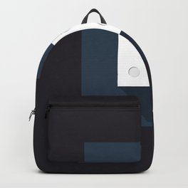 """Print Dice """"four"""" with long shadow in new modern flat design Backpack"""